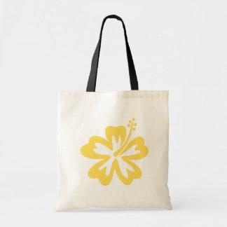 黄色いハイビスカスの花9 トートバッグ