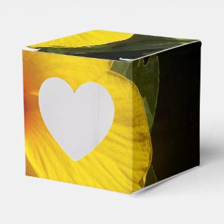 黄色いハイビスカスの花 フェイバーボックス