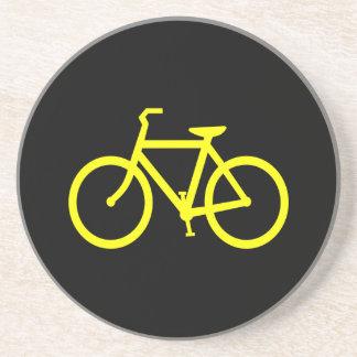 黄色いバイク コースター