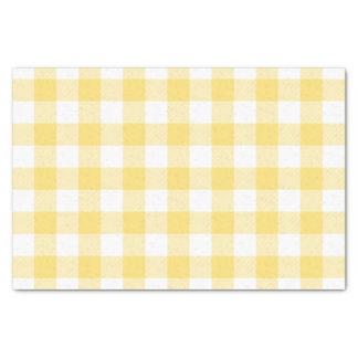 黄色いバッファローの点検パターン 薄葉紙