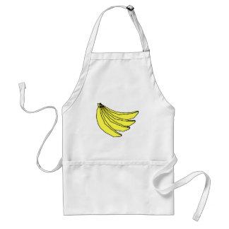 黄色いバナナの束 スタンダードエプロン