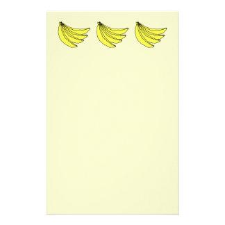 黄色いバナナの束 便箋