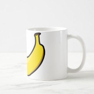 黄色いバナナ コーヒーマグカップ