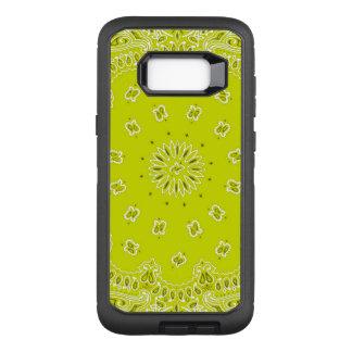 黄色いバンダナのSamsung S8のオッターボックスの箱 オッターボックスディフェンダーSamsung Galaxy S8+ ケース