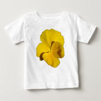 黄色いパンジー201711f ベビーTシャツ