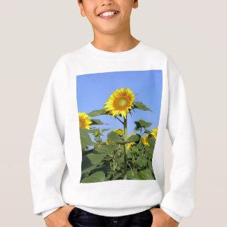 黄色いヒマワリ スウェットシャツ
