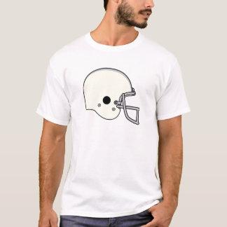 黄色いフットボール用ヘルメット Tシャツ