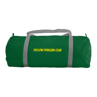 """黄色いペンギンクラブは""""私達が"""" Duffleを飛ばすことを仮定します ジムバッグ"""