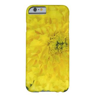 黄色いポンポンのマリーゴールド BARELY THERE iPhone 6 ケース
