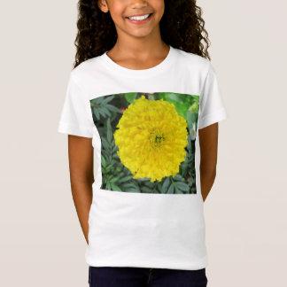 黄色いポンポンのマリーゴールド Tシャツ