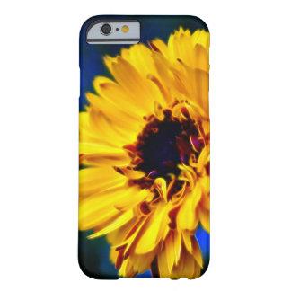 黄色いマリーゴールドの花 BARELY THERE iPhone 6 ケース