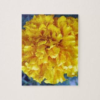 黄色いマリーゴールド ジグソーパズル