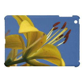黄色いユリのiPad Miniケース iPad Miniケース