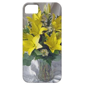 黄色いユリ iPhone SE/5/5s ケース