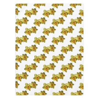 黄色いラッパスイセン2.2.2.f テーブルクロス