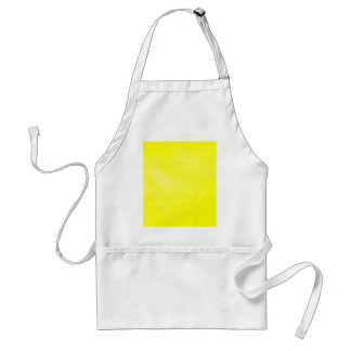黄色いレザールック(のど) スタンダードエプロン