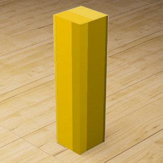 黄色いワイン用化粧箱の陰 ワインギフトボックス