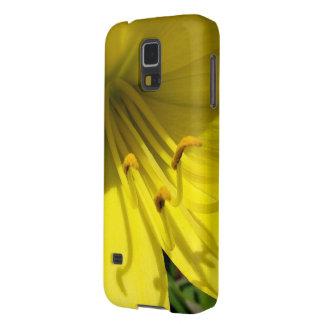 黄色いワスレグサのSamsungの銀河系の関連 Galaxy S5 ケース
