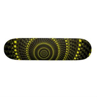黄色い円のスケートボード スケートボード