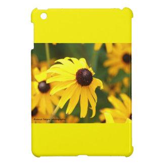 黄色い円錐形の花 iPad MINIカバー