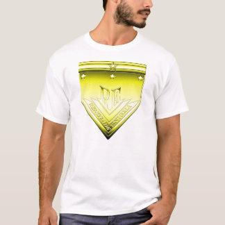 黄色い反逆するエニグマの頂上 Tシャツ