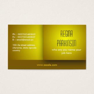 黄色い名刺 名刺