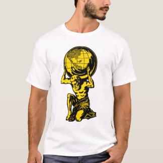 黄色い地図書のトレーニングのTシャツ Tシャツ