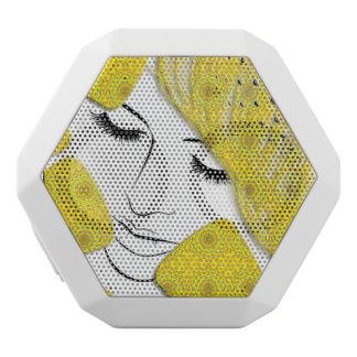 黄色い夢 ホワイトBluetoothスピーカー