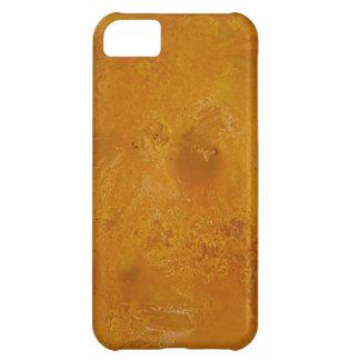 黄色い大理石のコレクション iPhone5Cケース