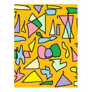 黄色い宝石 ポストカード