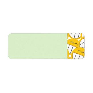 黄色い家族 ラベル