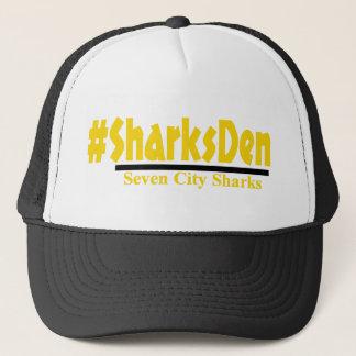 -黄色い帽子を#SharksDen キャップ