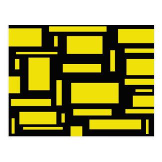 黄色い当惑 ポストカード