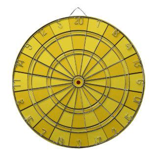 黄色い投げ矢板 ダーツボード
