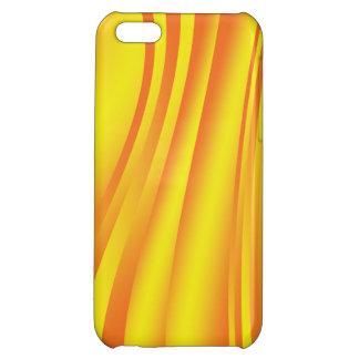 黄色い抽象芸術 iPhone5Cケース