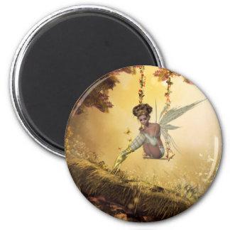 黄色い振動妖精の磁石 マグネット
