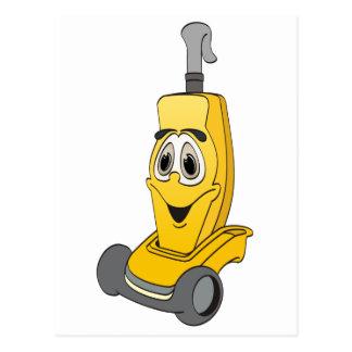 黄色い掃除機 ポストカード