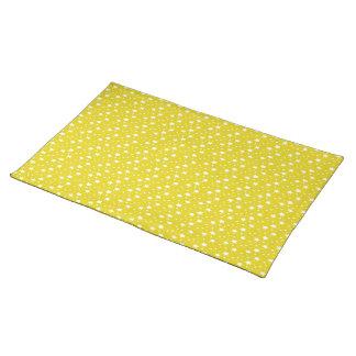 黄色い星明かり ランチョンマット
