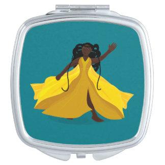黄色い服のDelia