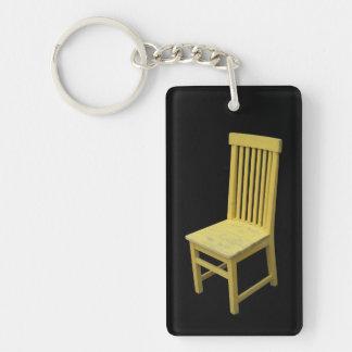 黄色い椅子 キーホルダー