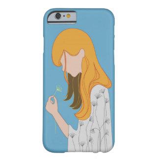 黄色い毛の絵 BARELY THERE iPhone 6 ケース
