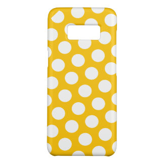 黄色い水玉模様の夢 Case-Mate SAMSUNG GALAXY S8ケース