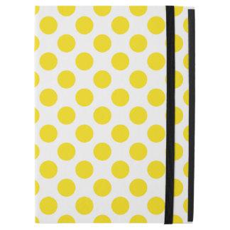 """黄色い水玉模様 iPad PRO 12.9"""" ケース"""