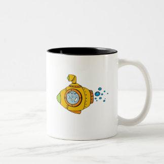 黄色い潜水艦 ツートーンマグカップ