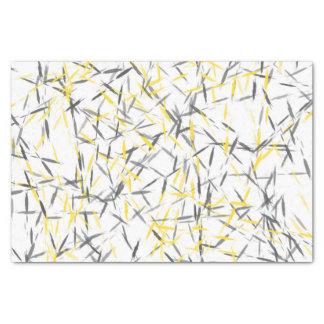 黄色い灰色の抽象芸術 薄葉紙