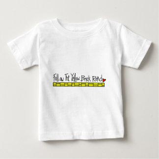 黄色い煉瓦道 ベビーTシャツ