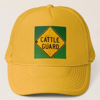 黄色い牛監視帽子 キャップ
