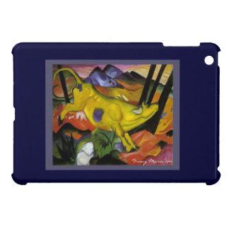 黄色い牛-フランツ・マルクの表現主義者の芸術--を跳躍させます iPad MINIケース