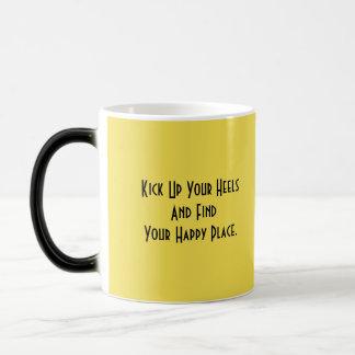 黄色い牛 マジックマグカップ