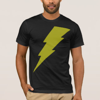 黄色い稲妻 Tシャツ